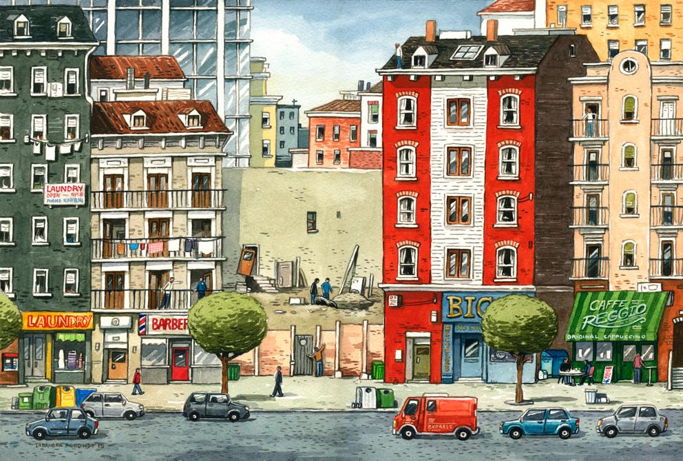 ILLUSTRATION  watercolor Drawing  painting   ilustracion gatotonto