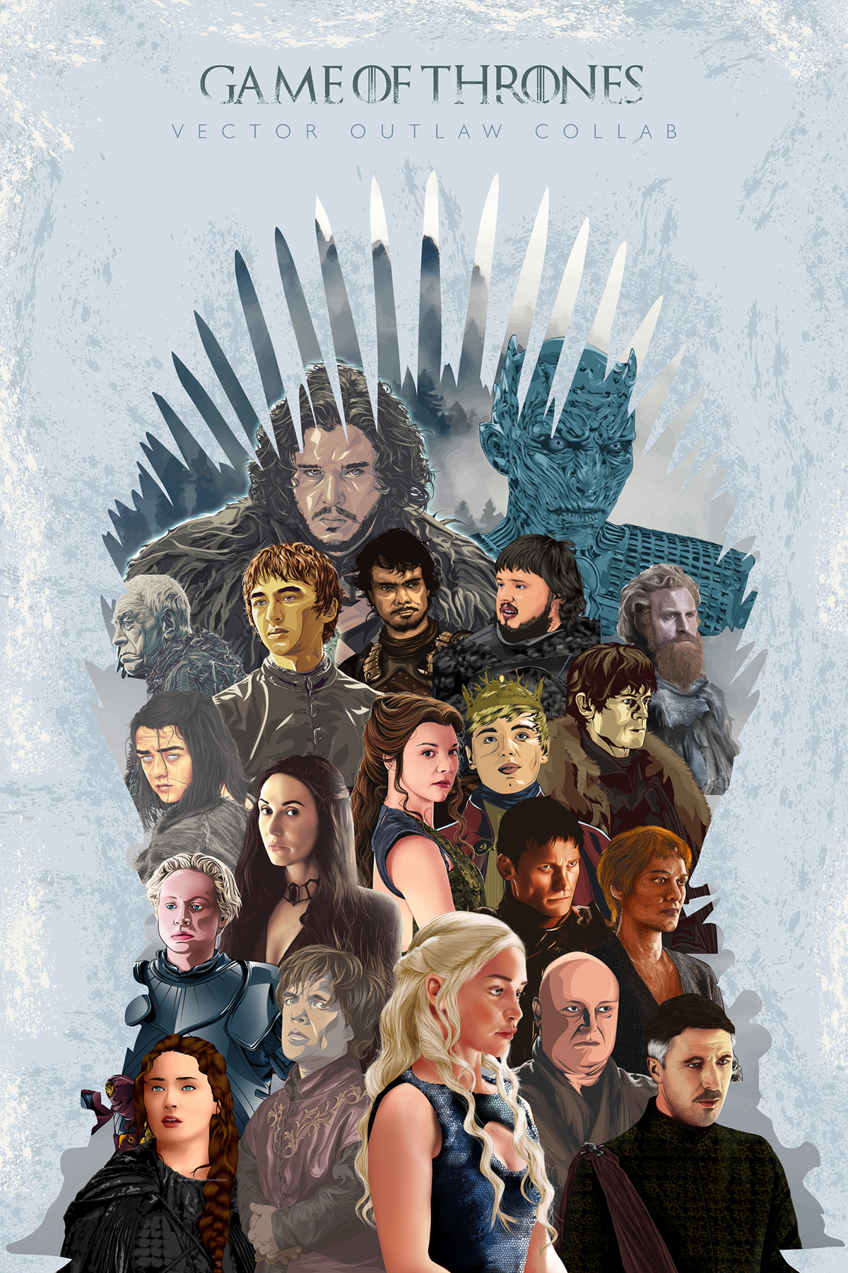 Game Of Thrones Fanart Collaboration On Behance