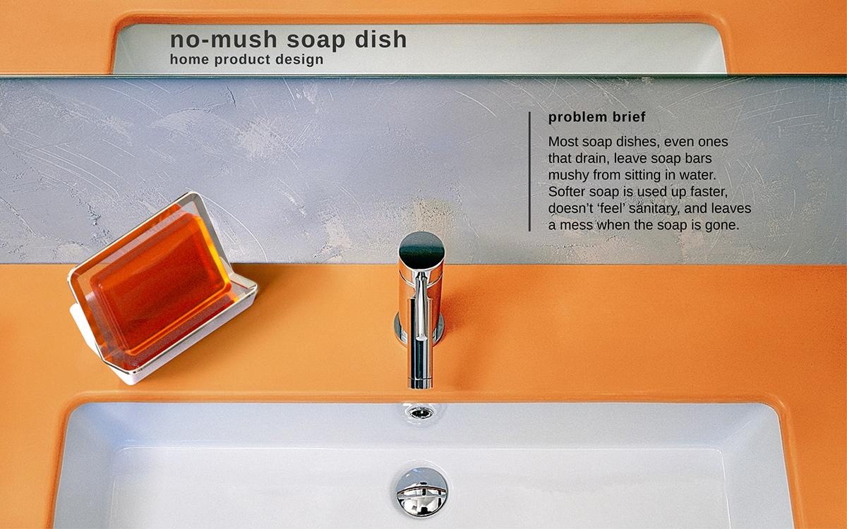 bathroom kitchen soap dish 3d printing