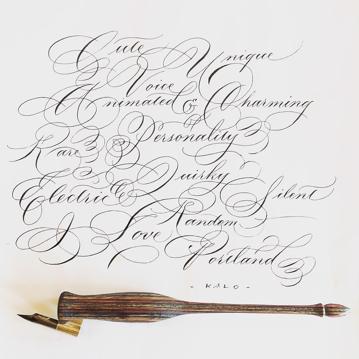 Calligraphy Wedding On Behance