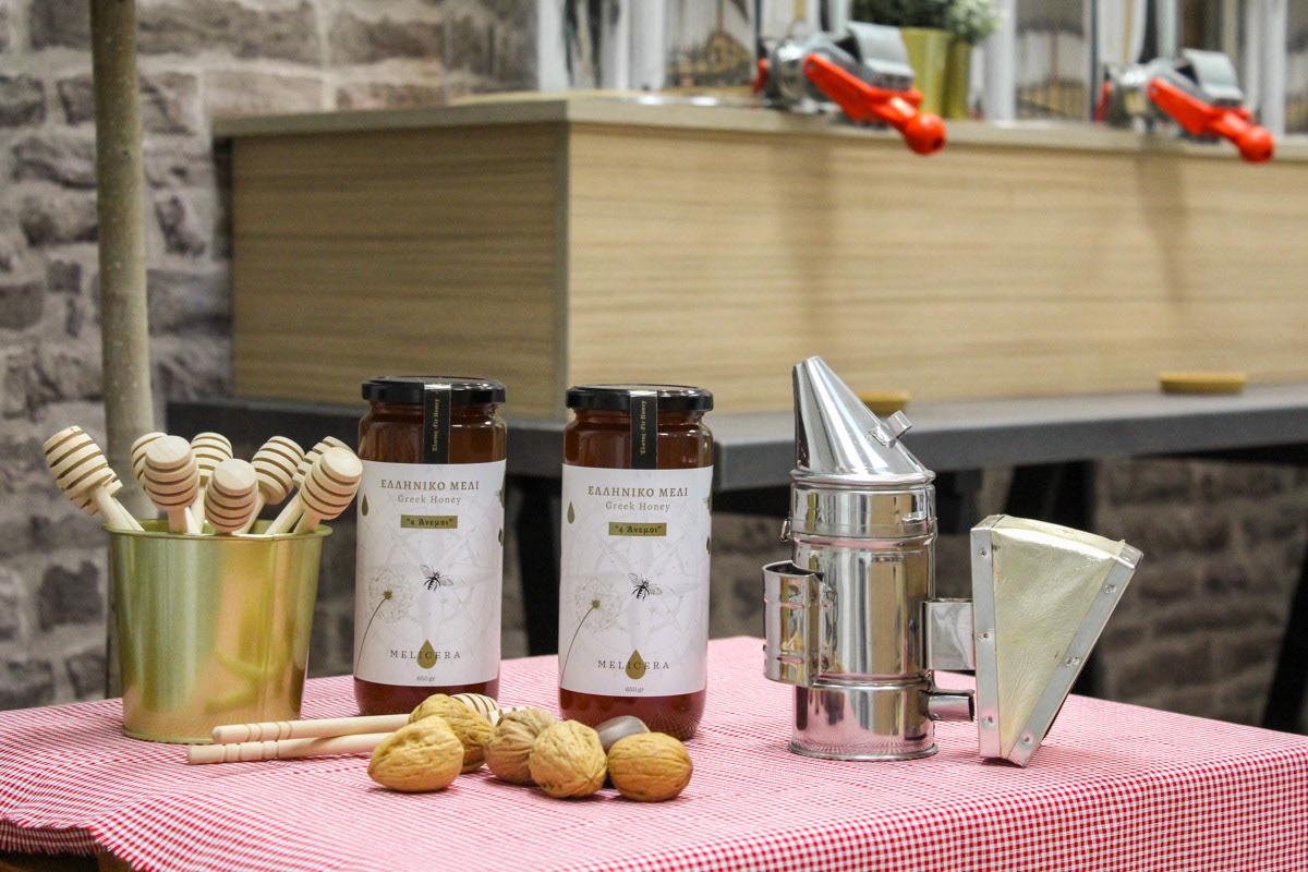 honey Trikala Greece brand identity Food  Packaging graphic design  bee ILLUSTRATION