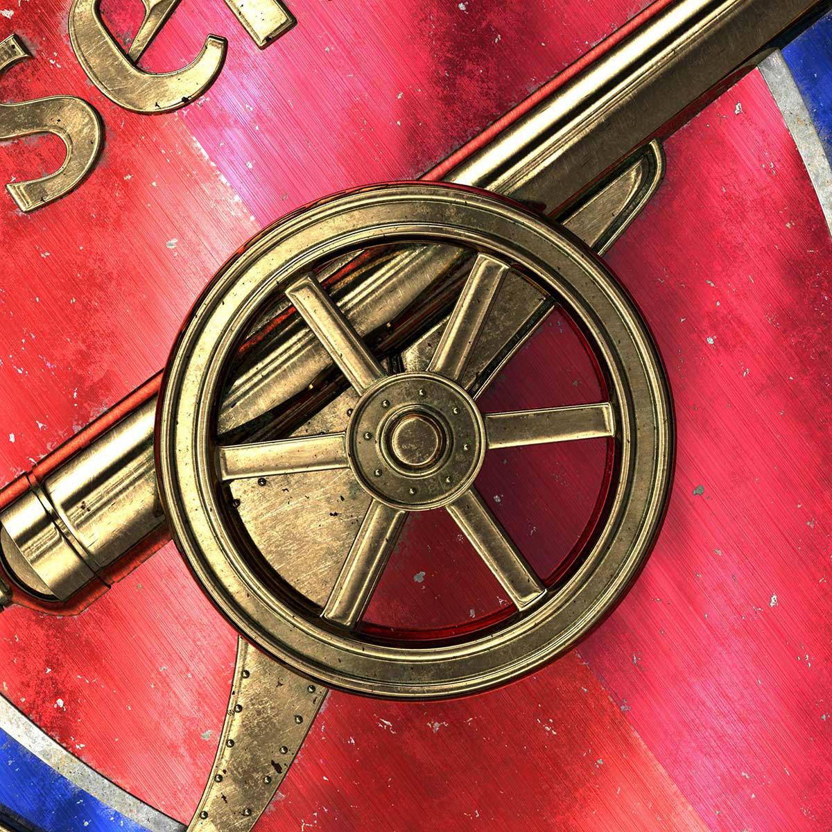 Talisman & Co.   Arsenal Badge   Andrei Lacatusu