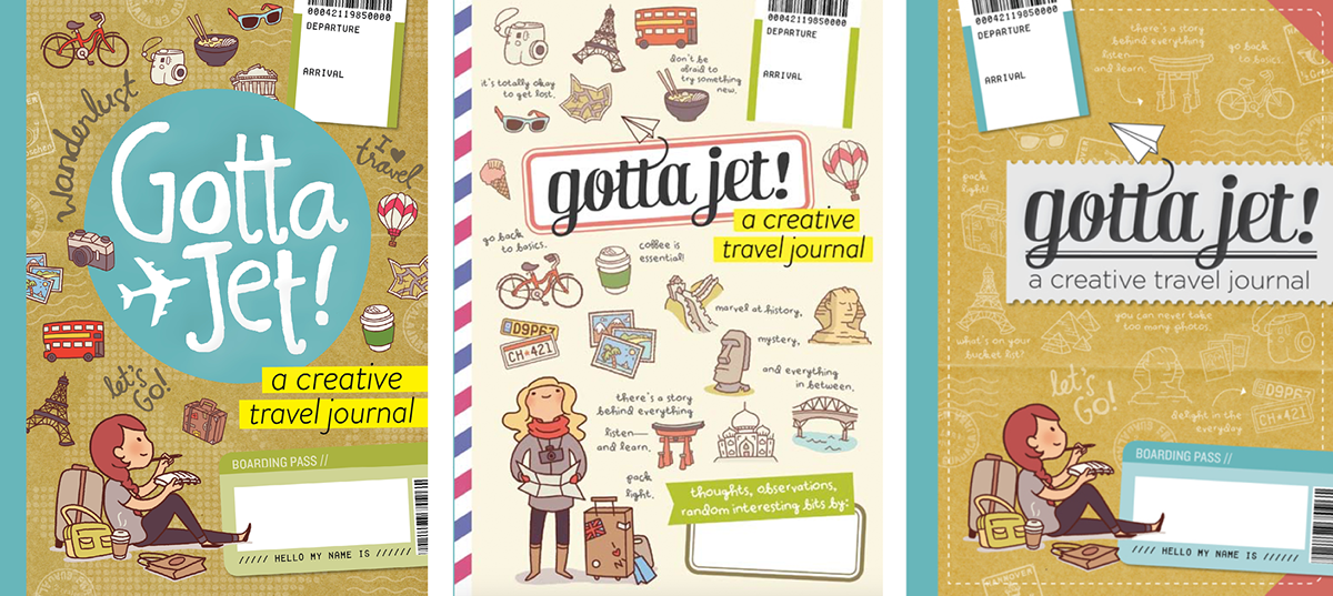 everyday explorers travel journal kit on behance