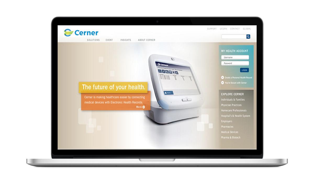 Cerner Brand and Website Redesign on Behance