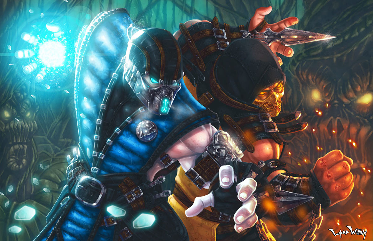 Mortal Kombat X Kollective On Behance