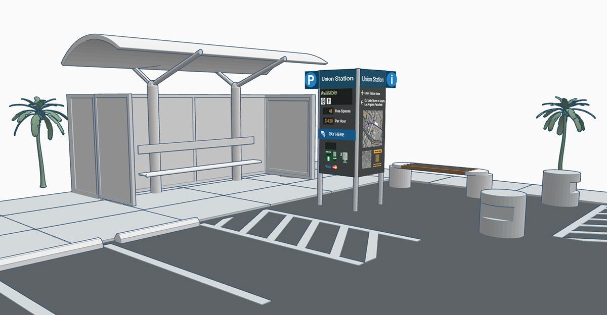 transportation,wayfinding,urbanism  ,Kiosk,Responsive,urbanmobility,multimodal,Transit,parking,mobility,automotive  ,Ford,Service design