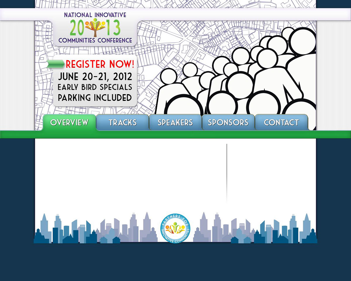 Reach Out west end partners for innovative communities Website pic-nicc pic Website Design