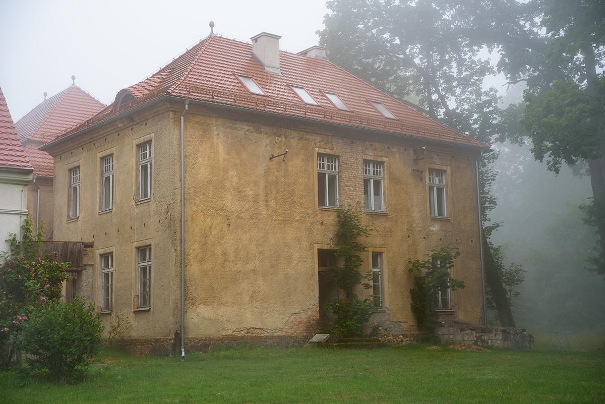 architectur fog foggy Hause natur old