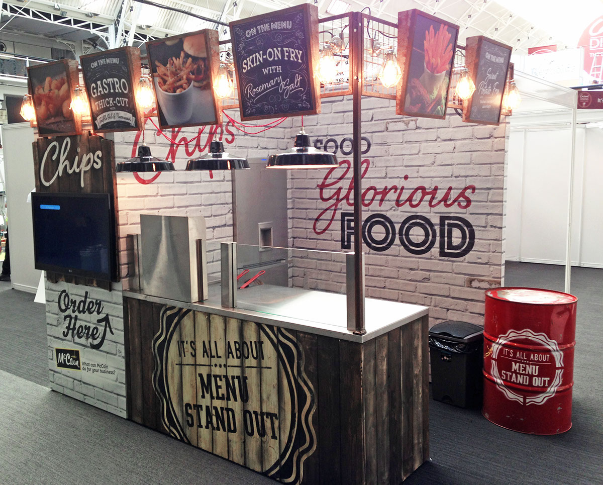 Exhibition Stand Leeds : Casual dining exhibition on behance