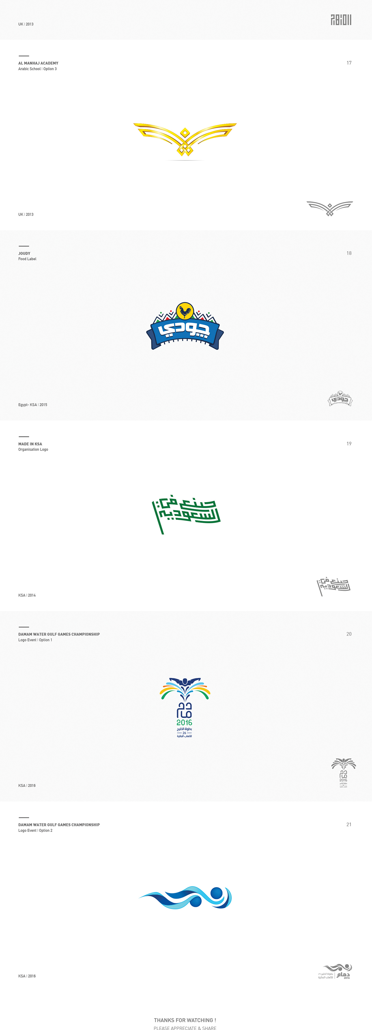 ARABIC LOGOFOLIO on Pantone Canvas Gallery