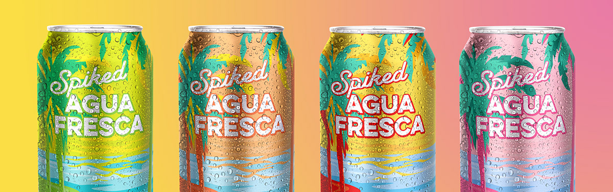 alcohol brewing cans fresca golden road Los Angeles Mexican Packaging