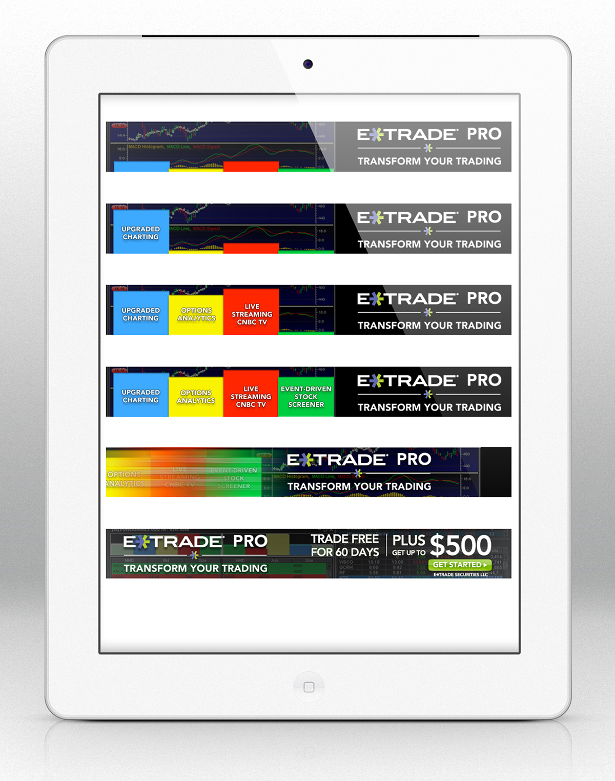ETRADE Digital Banners on Behance