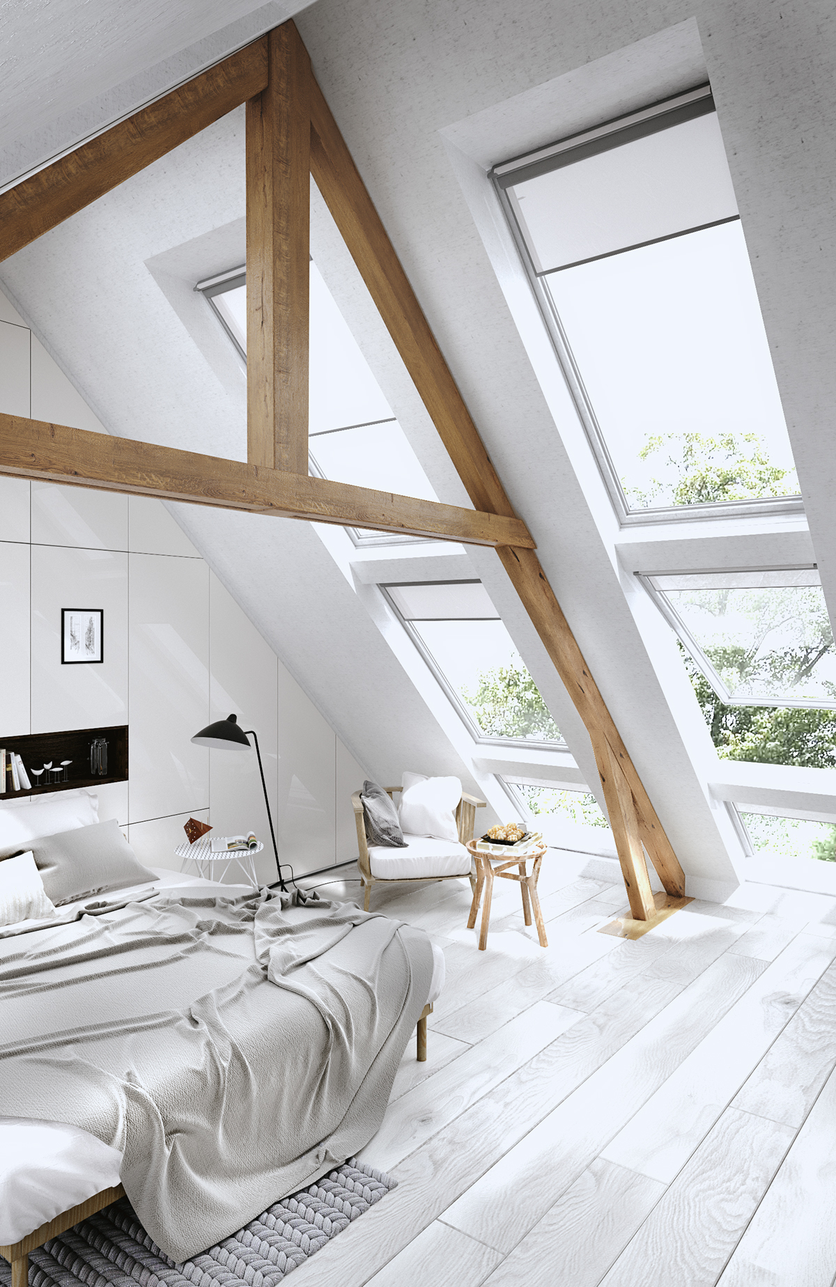 Amazing Attic Bedroom