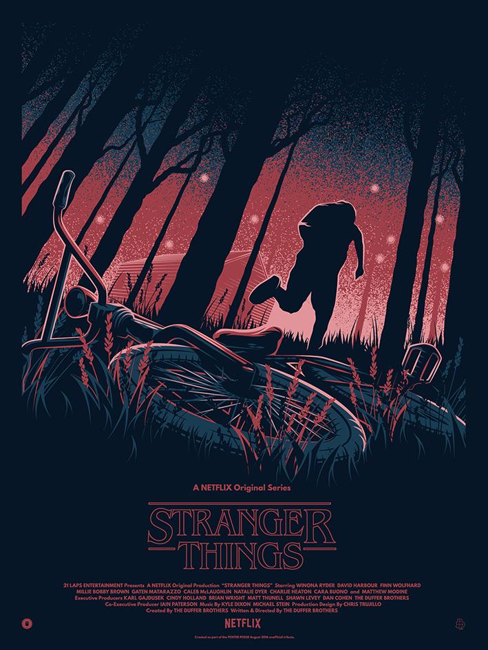 STRANGER THINGS For Poster Posse on Behance