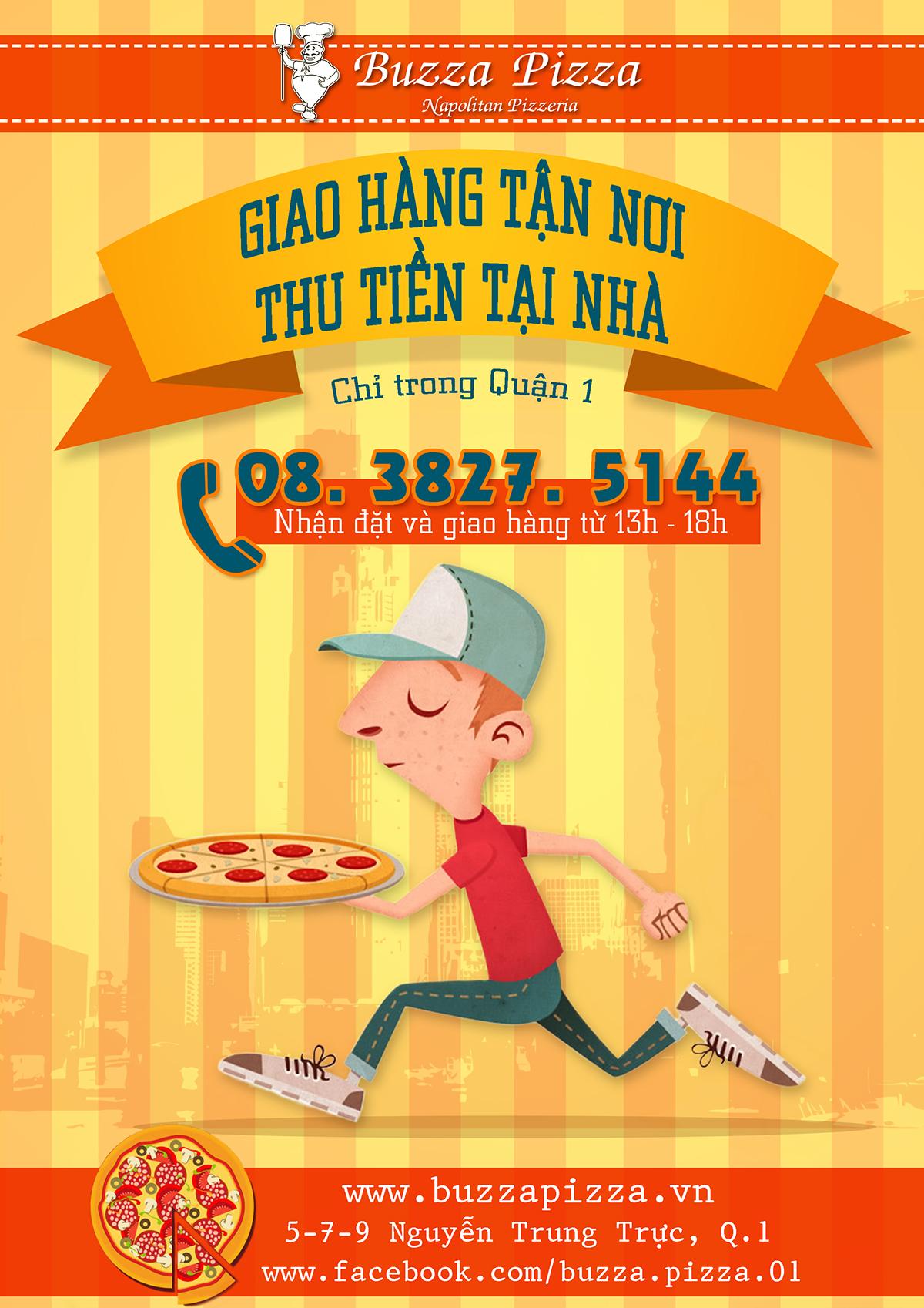 design Buzza Pizza