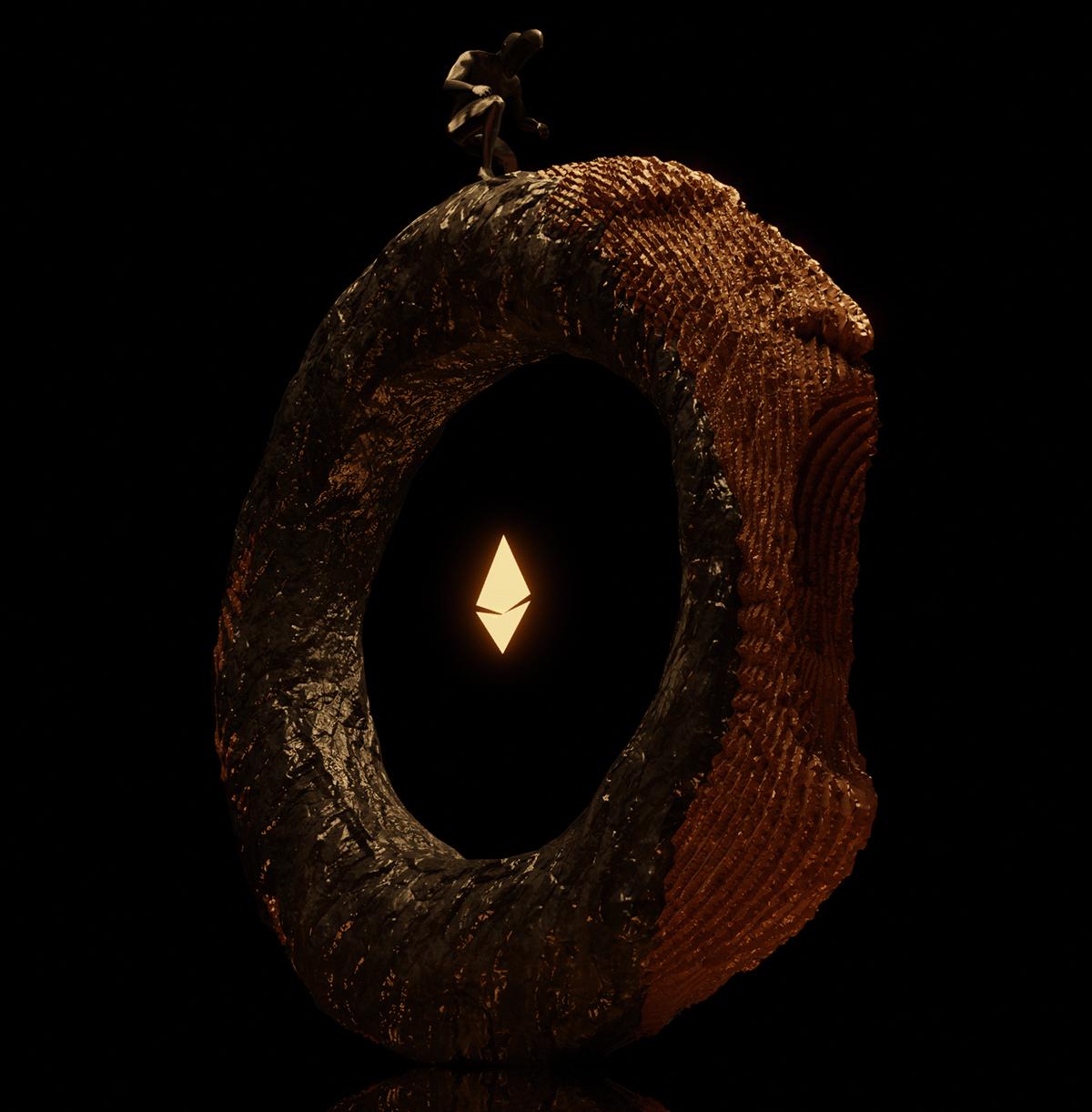african crypto faces loop nft Paul Louise-Julie surreal tribal