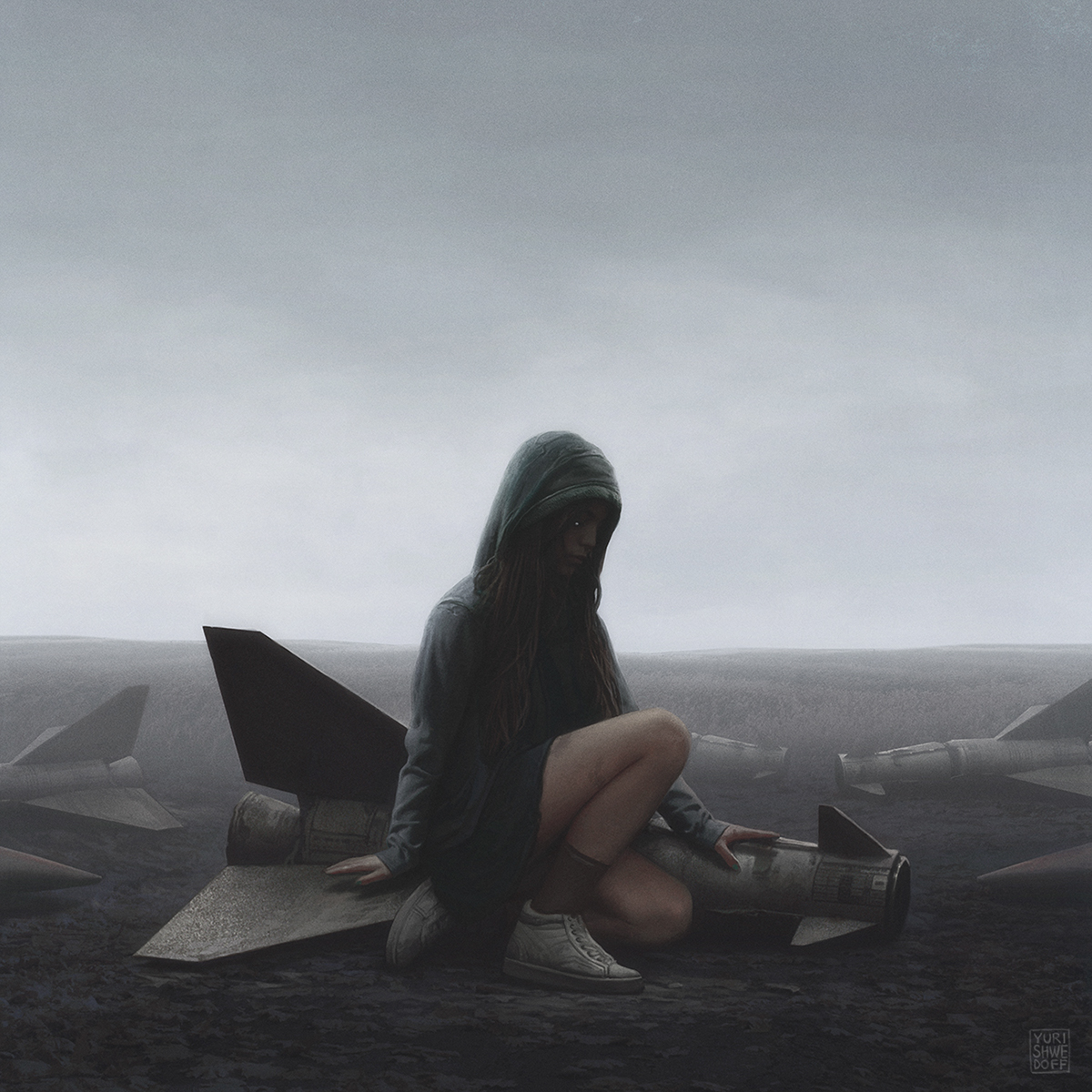 Eerie Illustrations of an Apocalyptical World