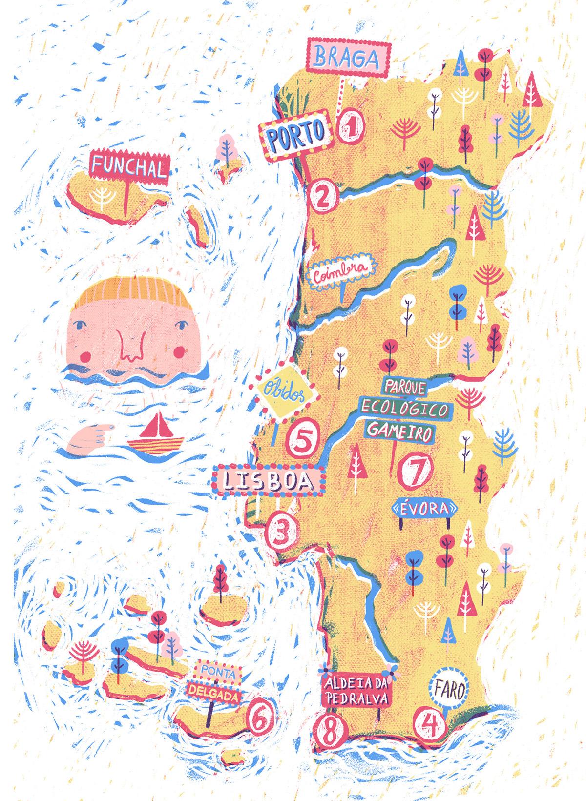 gerador #6 map Portugal