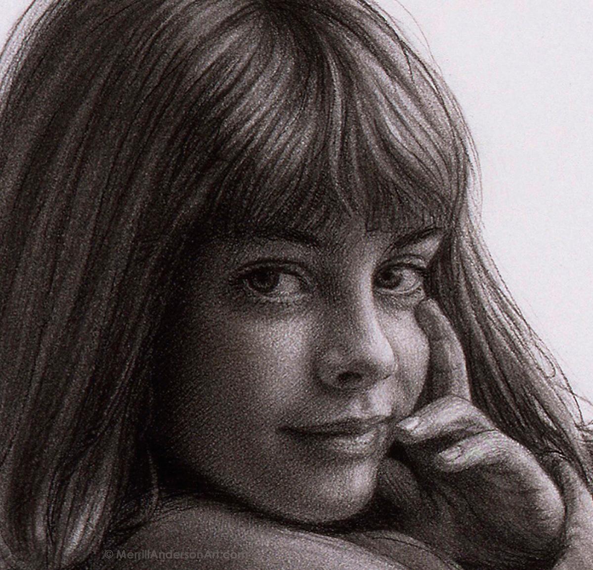 Adobe Portfolio Oils Charcaol portraits