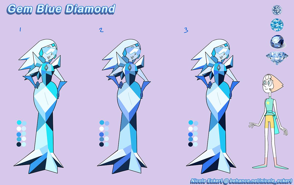 Gemsona Designs Portfolio Inspired By Steven Universe On