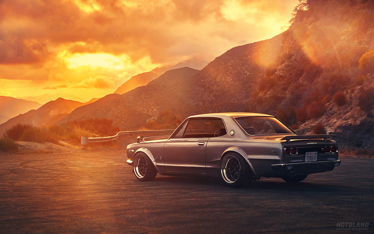 1971 Nissan Skyline 2000 Gtx On Behance