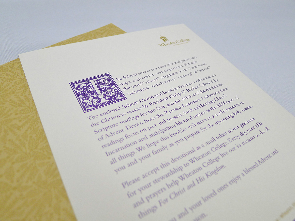 Advent Booklet and mailing on Behance