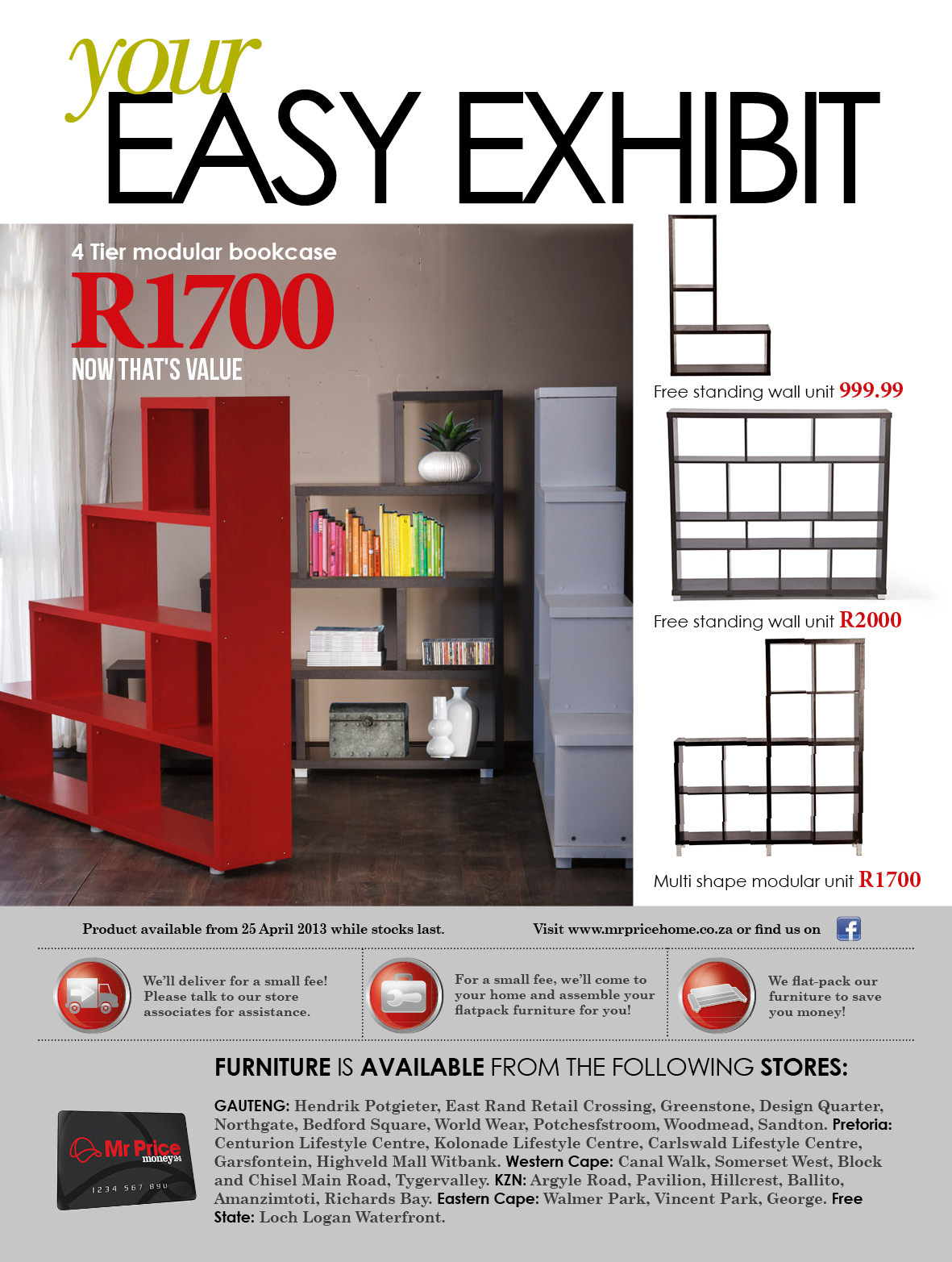 Mr Price Home Furniture Catalogue for  13  I worked on the layout and  design as a part of a team with my Creative Director and Art Director. Mr Price Home Furniture Catalogue  13 on Behance