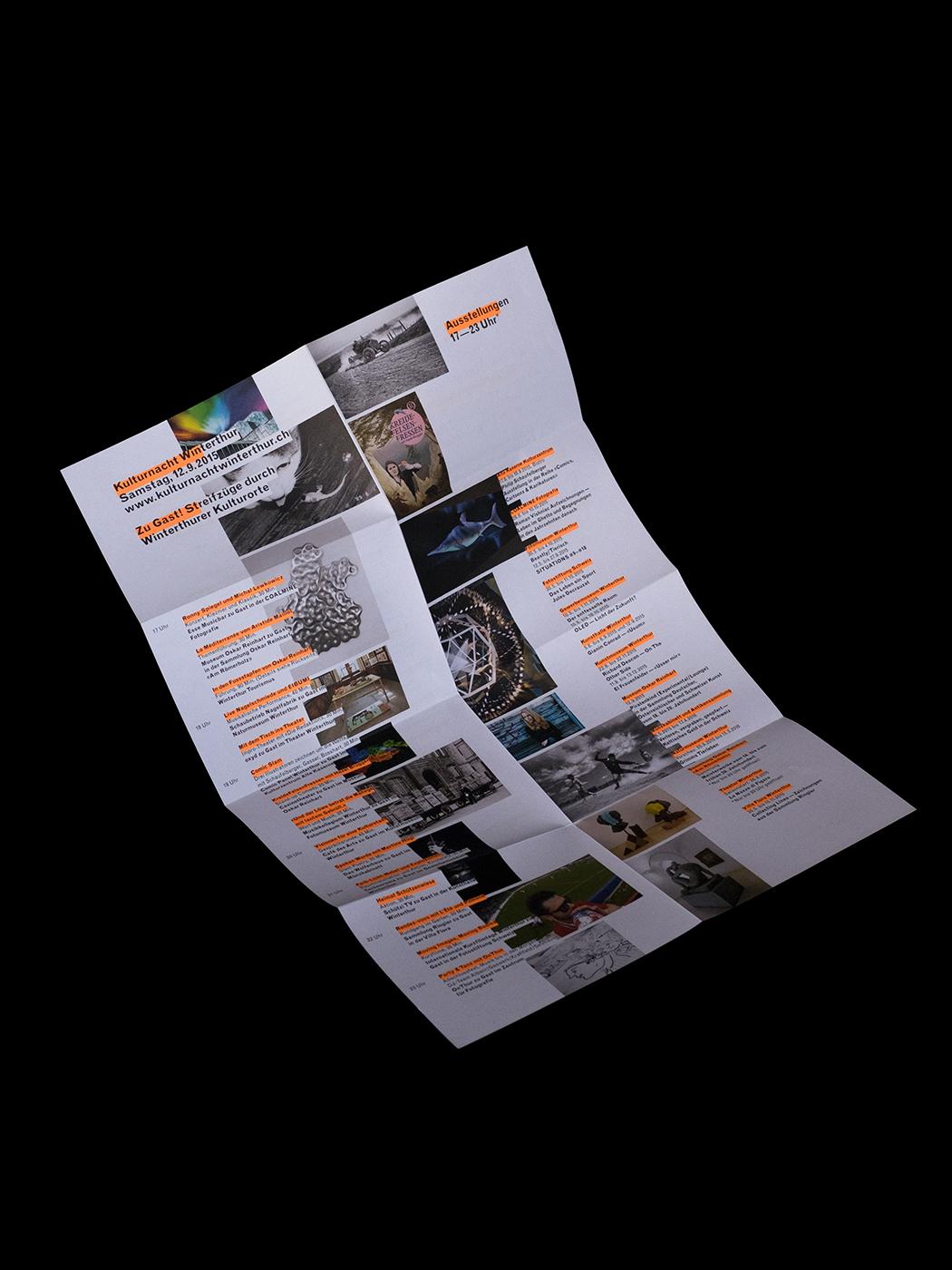 flyer poster Layout graphic design  typography   neon plakat faltplakat print design