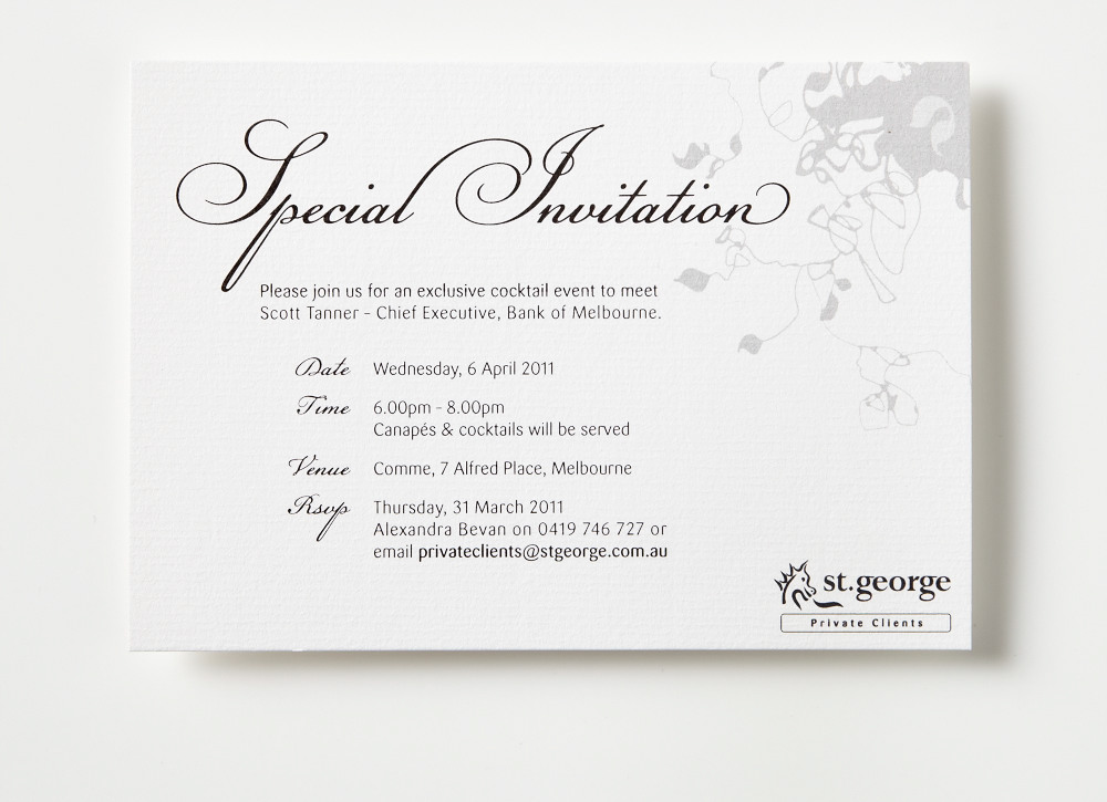 Cocktail Event  Invitation Design On Behance