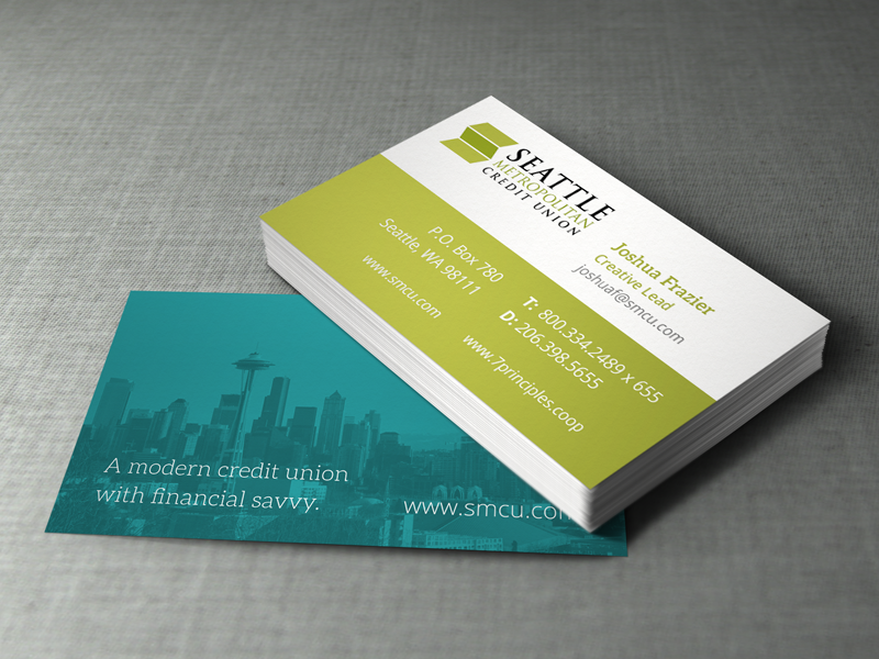 Seattle Metropolitan Credit Union On Behance