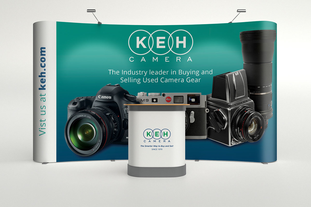 KEH Camera Trade Show products on SCAD Portfolios