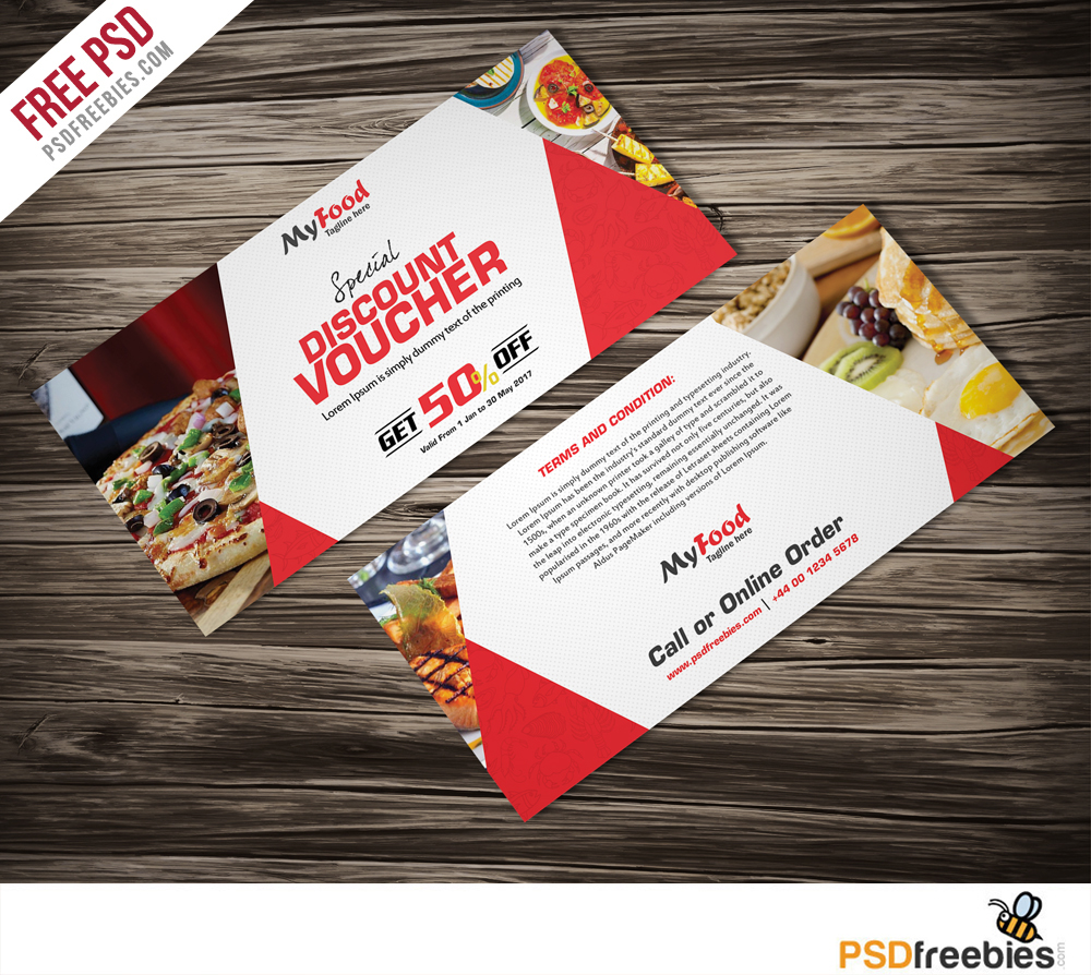 Charming Freebie : Discount Voucher Free PSD Template On Behance Inside Free Discount Vouchers