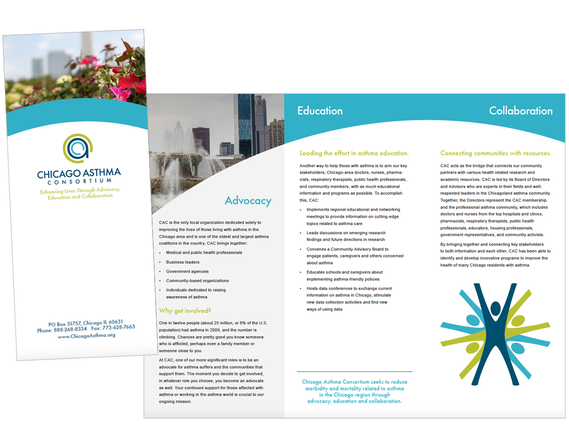 Chicago Asthma Consortium Brand Study and Rebrand on Behance