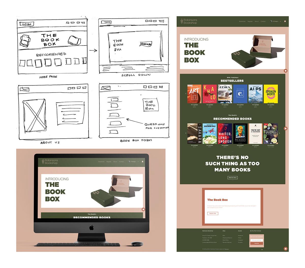 art books Bookstore Capstone design graphicdesign photoshop