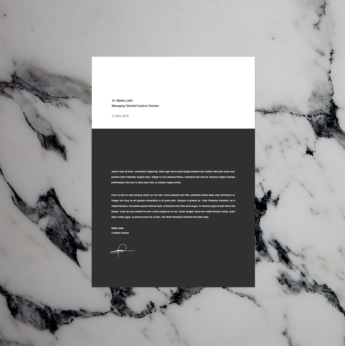 Best Free Resume Templates On Behance