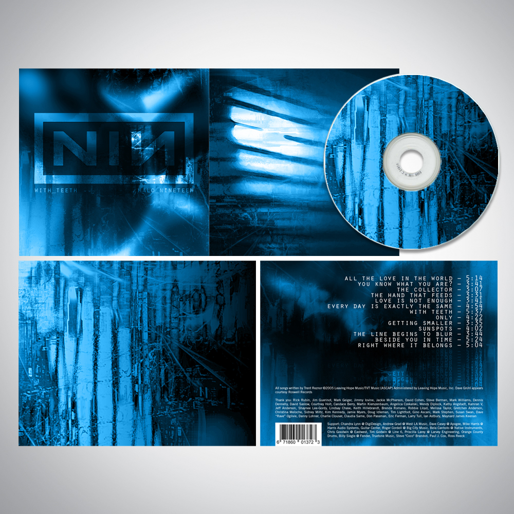 Nine Inch Nails Album Artwork on Behance