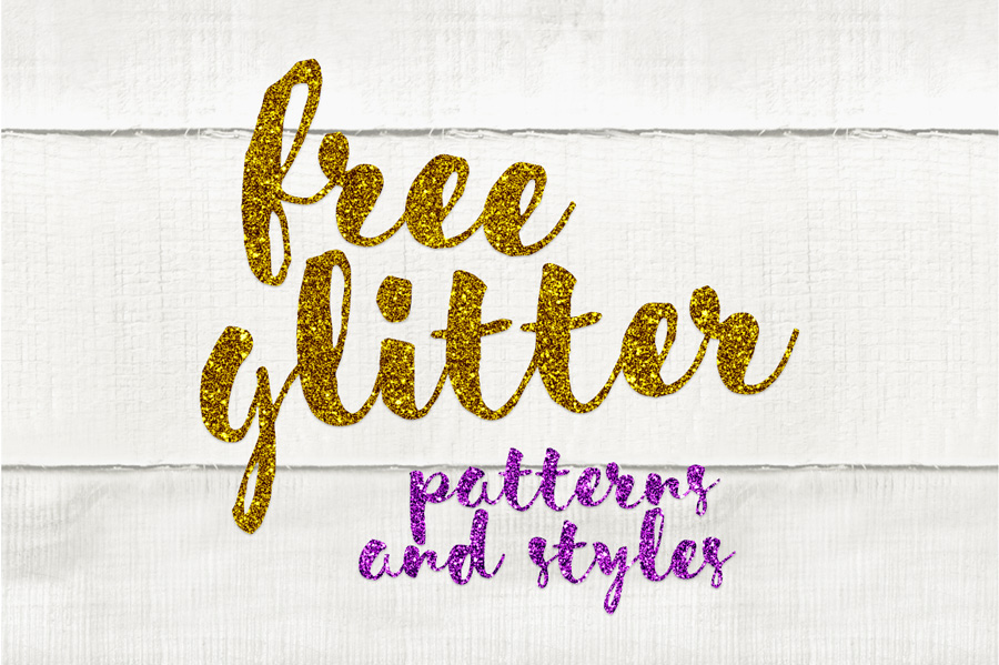 Free Glitter Photoshop Patterns and Styles on Behance