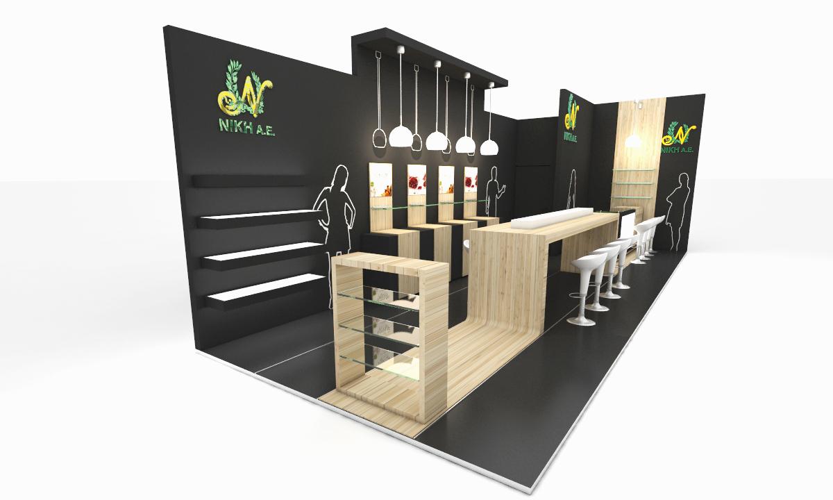 Food Exhibition Booth Design : Exhibition design on behance