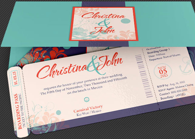 Wedding pacific boarding pass invitation template on behance 1 325x8 photoshop wedding cruise boarding pass invitation template 1 375x825 photoshop wedding cruise boarding pass invitation jacket template stopboris Image collections
