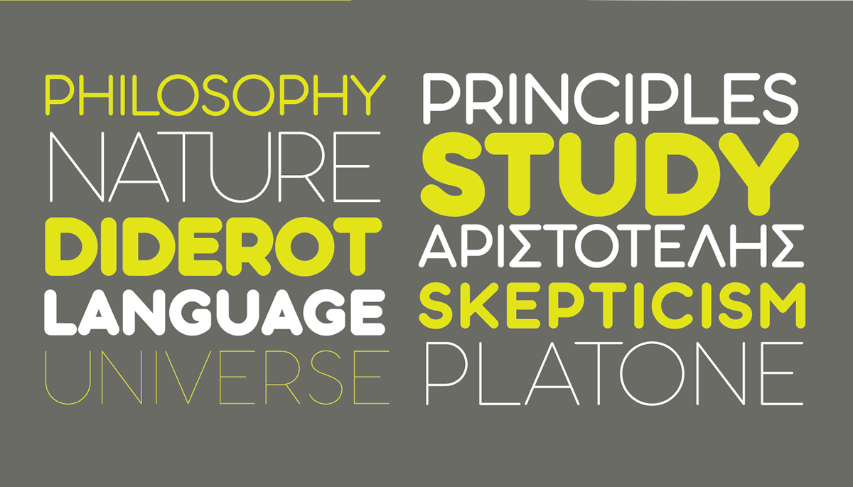 ARISTOTELICA type system - 29 weights free fonts on Wacom