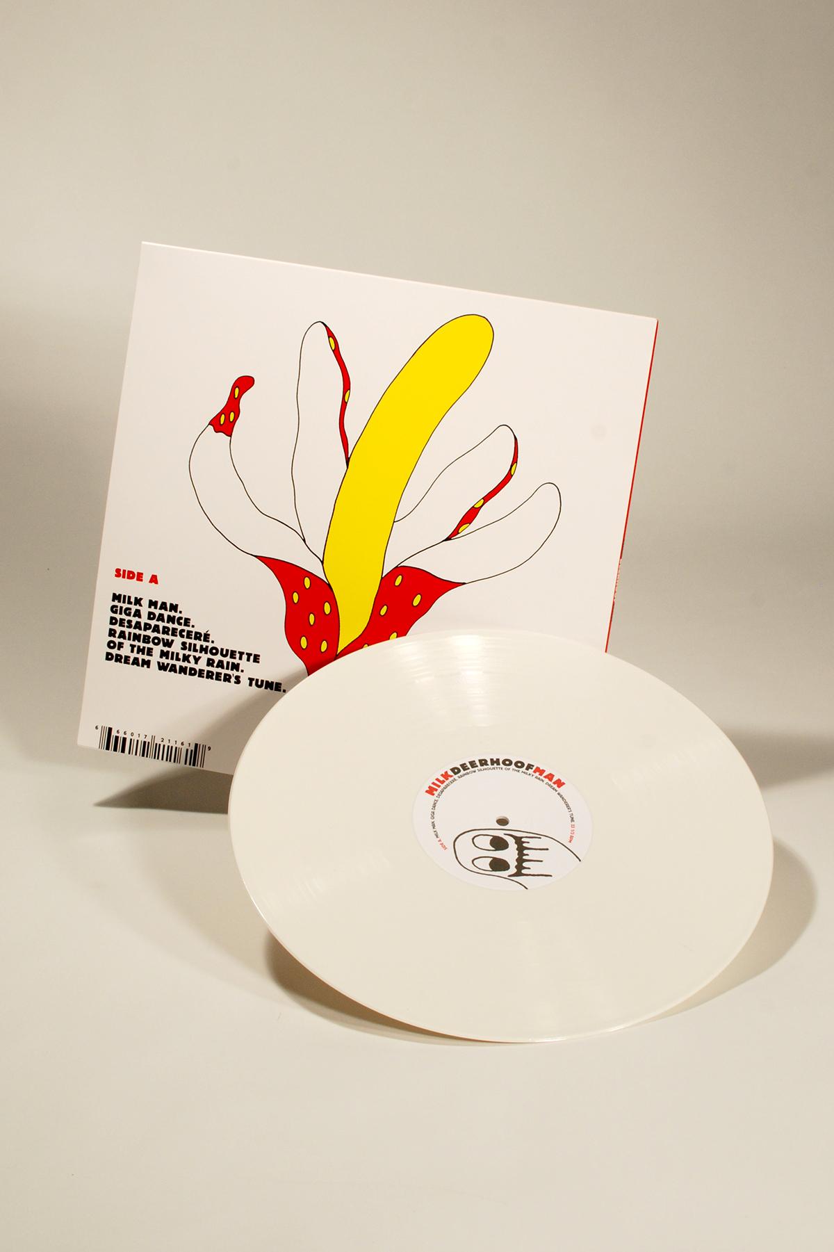 Adobe Portfolio music record sleeves graphic design  bands vinyl indie