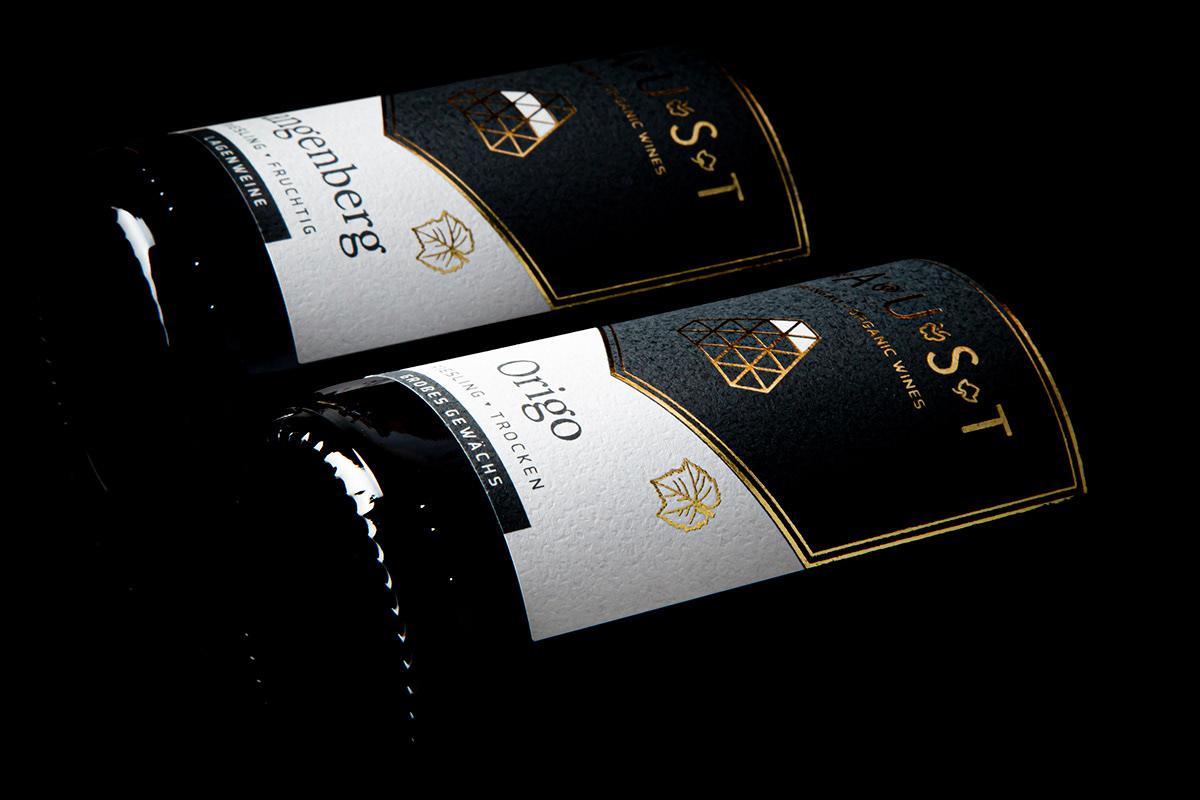 boom studio Faust FRANK FAUST hotele of wine labels organie wine Packaging rheingau wina packaging wine