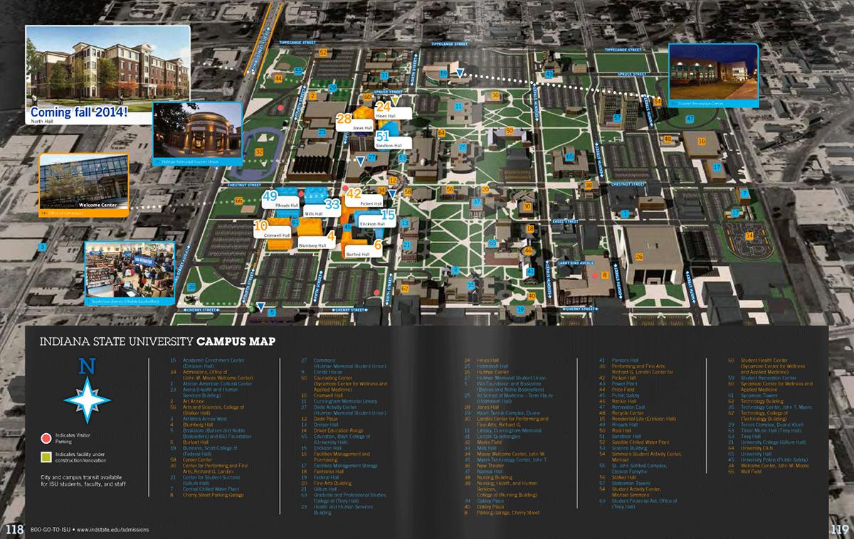 Indiana State University Viewbook 2013 14 On Behance