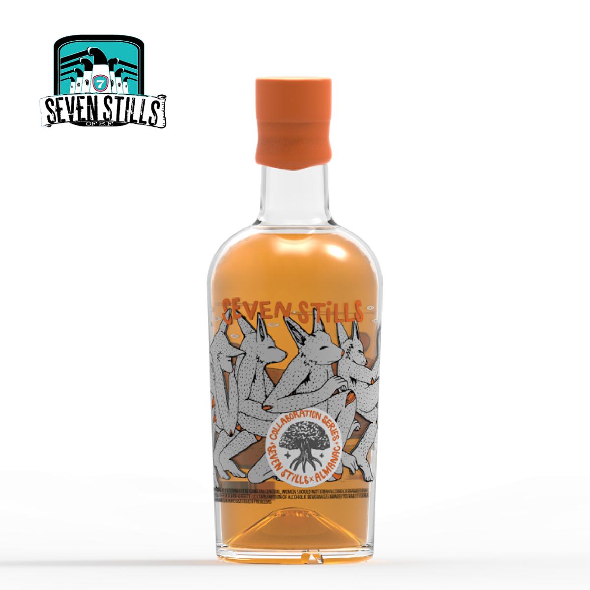 regine bottle Whiskey seven stills Dogpatch Rhino keyshot
