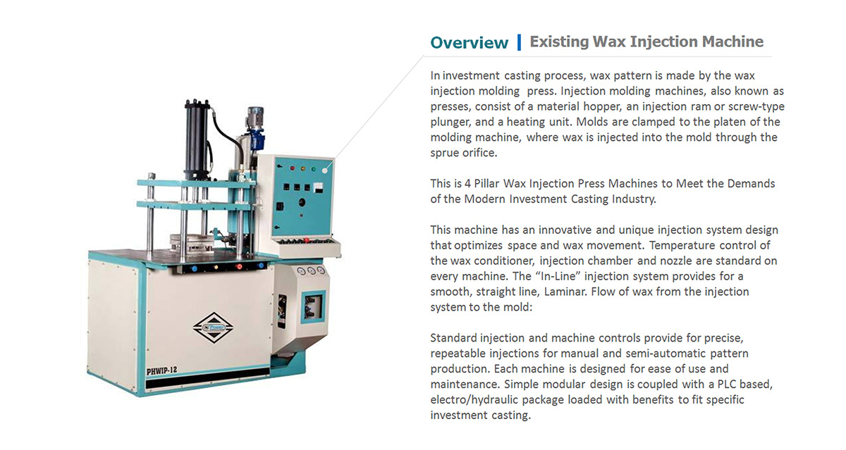 Dual Station Dual Injection Wax Injection Press on Behance