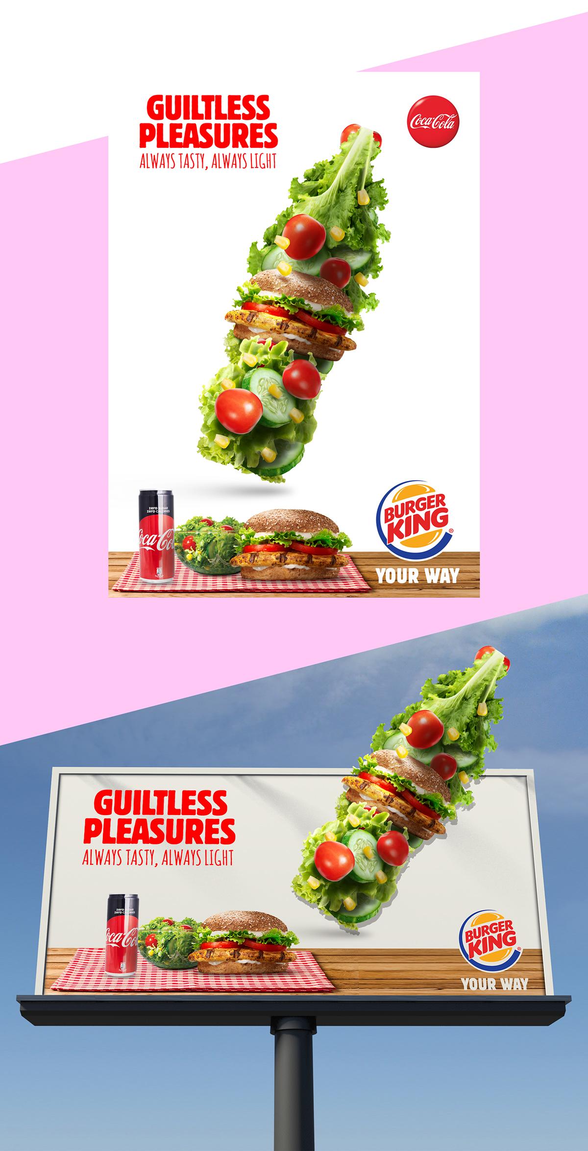 Burger King Coke Zero On Student Show