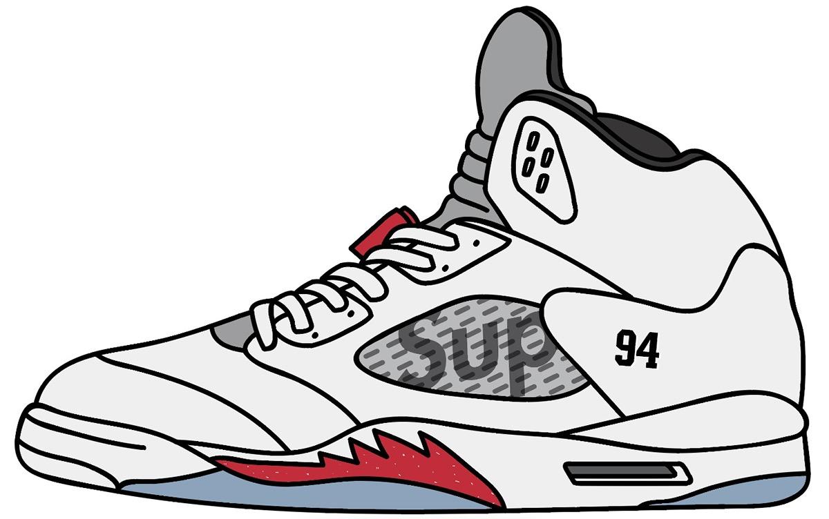 Air Jordan 5 De Dibujos Animados Suprema 0Hs1cv9uKO