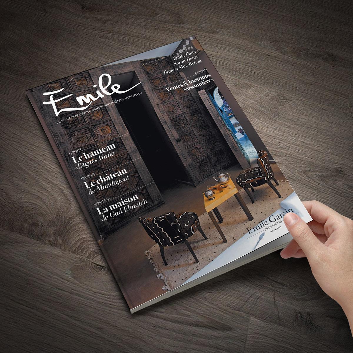 Emile Garcin Le Magazine On Behance