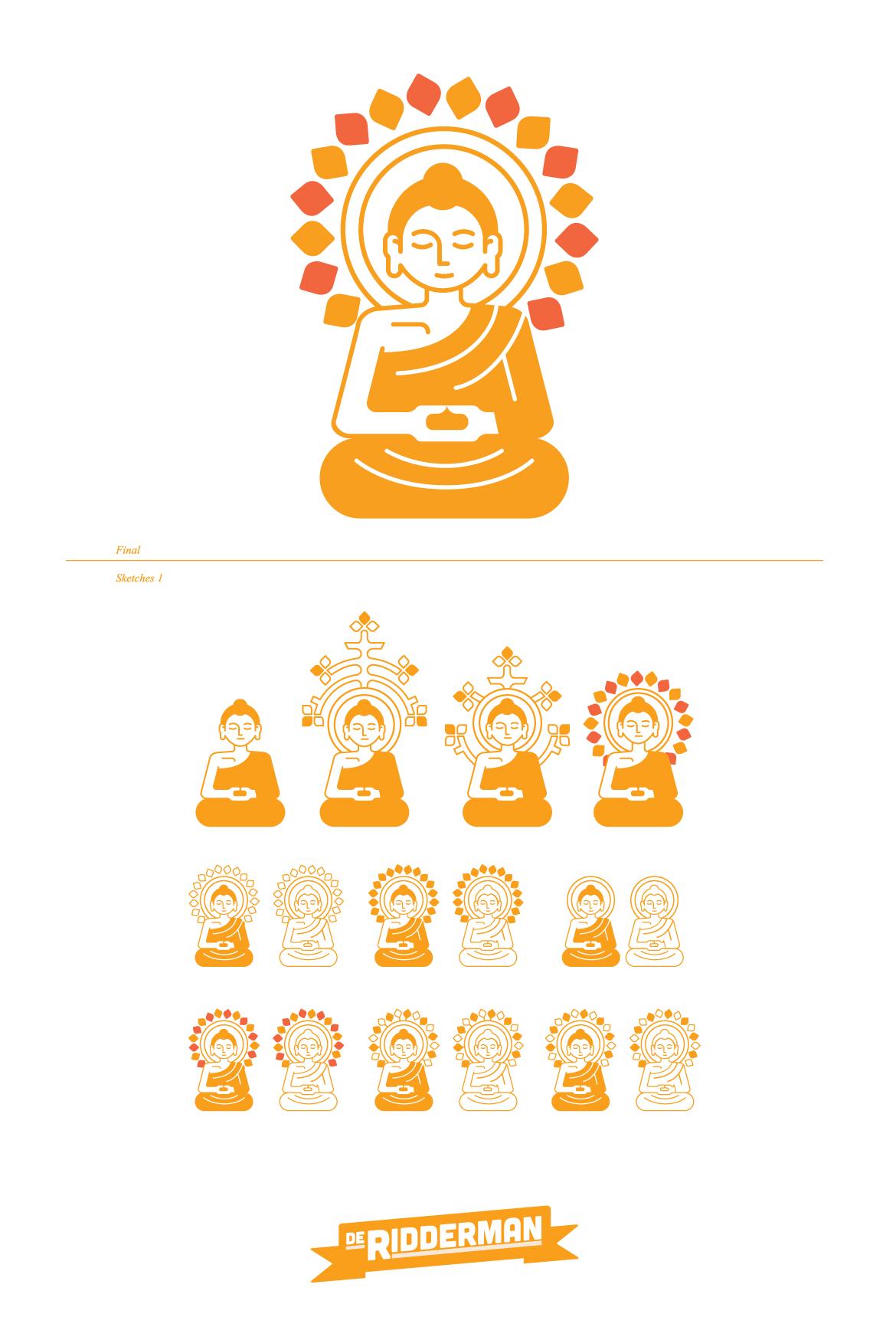 logo boeddha