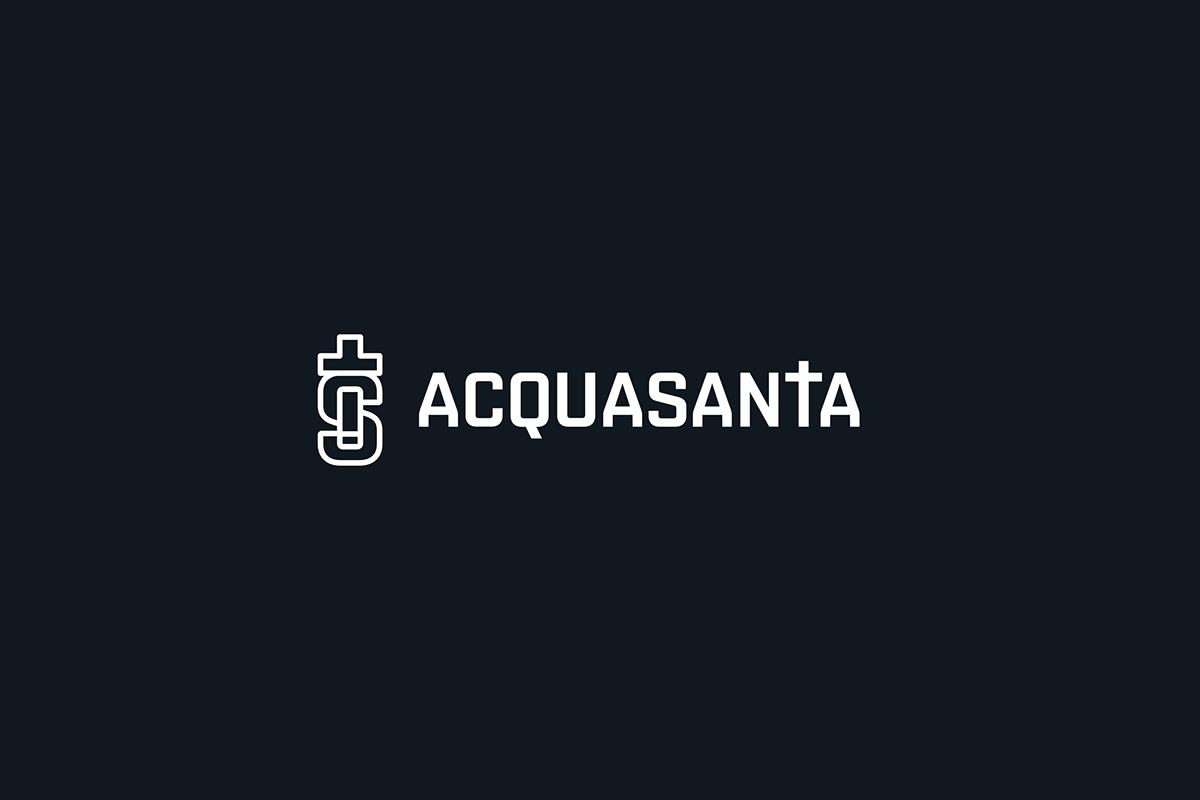 Acquasanta ArtDirection brand branding  site Web Webdesign Website